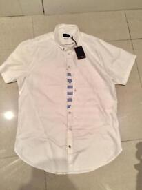 Men's Paul Smith white s/s shirt RRP £110