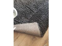Lovely deep grey rug