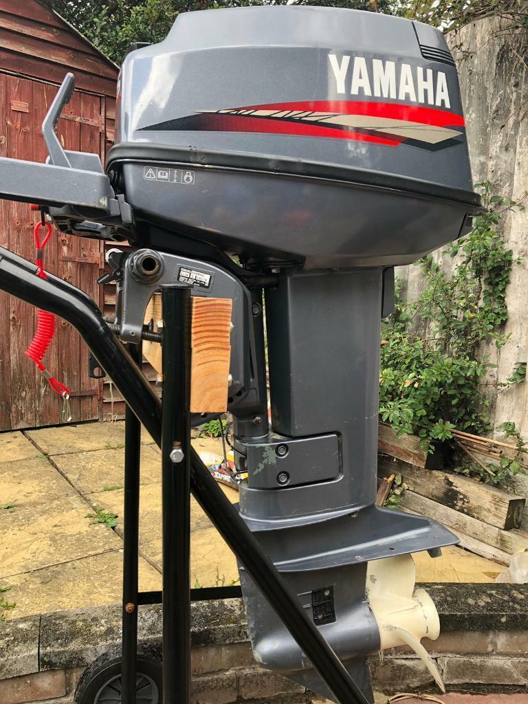 YAMAHA 25HP 2 STROKE OUTBOARD ENGINE JUST 48 KG | in South Woodham Ferrers,  Essex | Gumtree