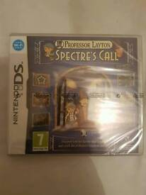 Professor layton spectres call new sealed 3ds