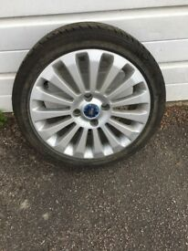 Alloy wheel and tyre for sale