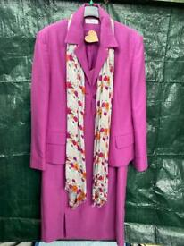 Beautiful J. Taylor dress and jacket 14