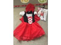 Little Red Riding Hood costume age 7-8