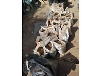 fresh soil already in bags for free