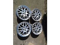 "15"" BBS RX2 splitrim rare 4x100 alloy wheels"