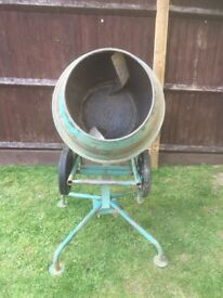 Cement mixer for sale as you can see it has been well looked after no dents and is in working order