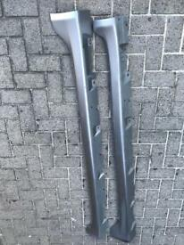 Honda Civic Ep3 Type R side skirts silver off 2.0 Type R