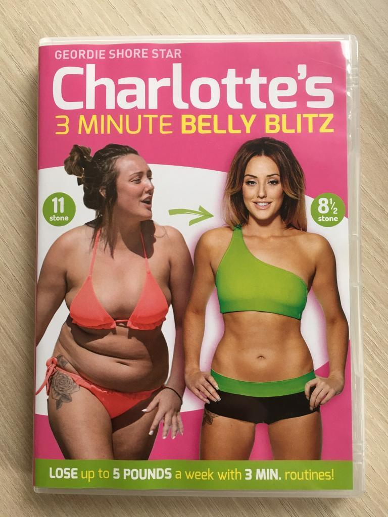 charlottes 3 minute belly blitz