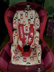 Cosatto dilly dolly carseat