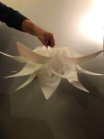 Next lotus pendant light shades - 2 for sale