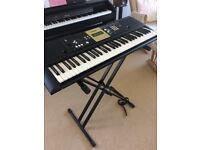 Yamaha Digital Keyboard PSR-E223 YPT-220 with stand
