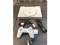 PlayStation 1 console with AV outlet. Ps1