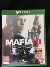 Mafia 3 on xbox one - Like new