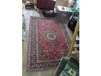 Persian Saruk Large Wool Rug - 295x210