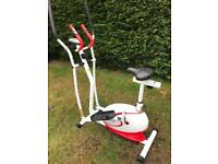 Empire 2in1 Elliptical Cross Training exercise machine/bike in fantastic condition.