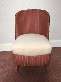 Lloyd Loom Vintage Retro Bedroom Chair
