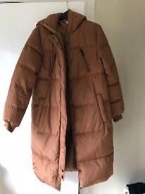 BNWT Red Herring size 12 padded longline coat