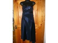 Pearce Fionda Evening Formal Navy Dress Size 8 Holiday Christmas Party RRP £120