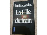 '''LA FILLE DU TRAIN''' French Book for PAULA HAWKINS