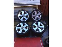 Genuine ronal Audi rs6 style alloy wheels x5