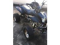 Quad bike 250cc road legal, good runner, NO MOT. Quick sale