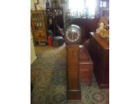westminster Granddaughter clock in oak