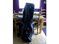 Lynx golf travel bag excellent condition with wheels
