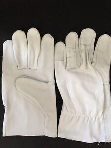 10 Paar Lederhandschuhe Montagehandschuhe Arbeitshandschuhe a. Nappaleder Gr. 11