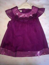 Monsoon dress 0-3 months