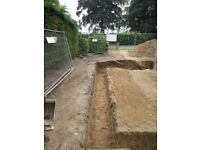 ALL TYPES OF GROUNDWORKS UNDERTAKEN, FOOTINGS DUG, DIGGER HIRE WITH OR WITHOUT OPERATOR , NORFOLK