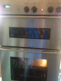 White Westinghouse double oven