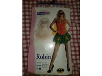 Womens robin costume size small worn once £10