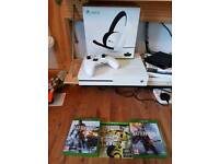 Xbox One S 500gb plus accessories and games