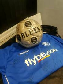Blues signed ball and top sensible offers