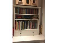 IKEA Children's white bookcase with drawer