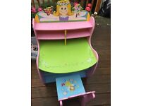 Lovely desk and chair for a little girl