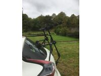Car cycle rack for 3 cycles