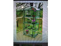 NEW Extra wide 4-tier mini greenhouse