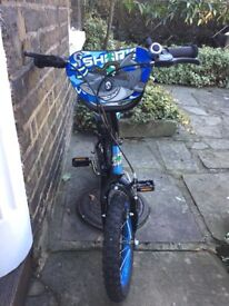 Kids' Bicycle, 14 inch wheels, great condition