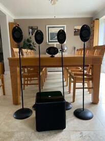 KEF surround speaker package