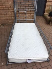 3FT Mid Rise Chrome Sleeper with mattress if needed. All ready to go