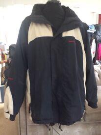 Ski Jacket 'White Rock' Size XL