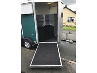 IFOR WILLIAMS HB505R DOUBLE HORSE TRAILER 2008 GREAT CONDITION