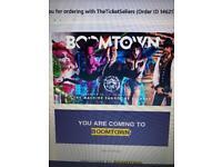 Boomtown ticket with return coach travel Norwich