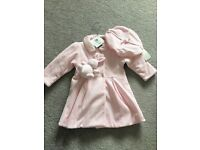 Emile et Rose girls coat 6-9 months unworn and with tags
