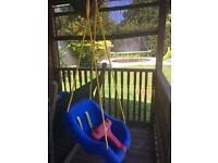 Little tykes 2 in 1 swing chair