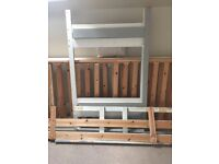 Wooden bunk bed - free to collector