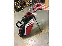 Fazer JTEK 4.0 Junior Right hand Golf set with bag