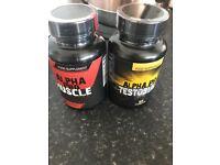 Alpha pro muscle and alpha pro testobuild