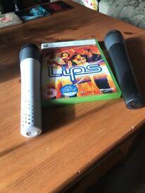 Lips game Xbox 360